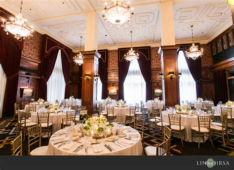 wedding banquet los angeles the athletic club los angeles wedding brian grace