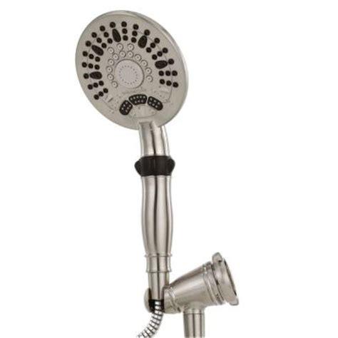 Waterpik Faucet by Waterpik Medallion 5 Spray Showerhead In Brushed