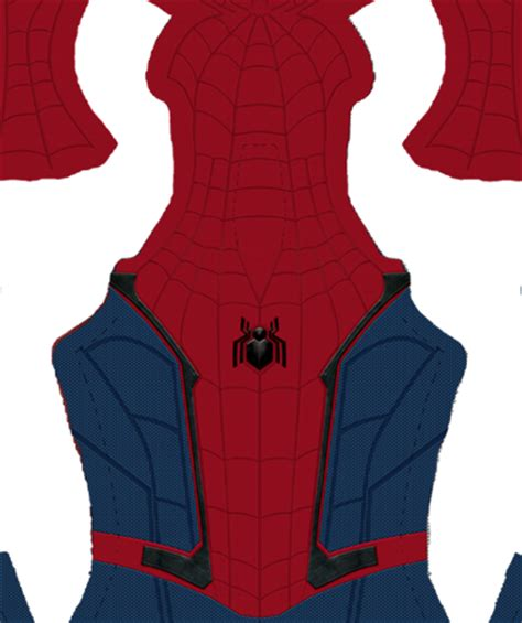 spiderman suit pattern free spider man homecoming trailer pattern