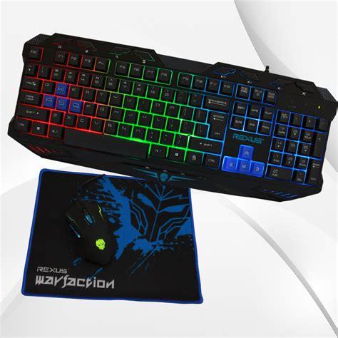 Rexus Warfaction Vr1 3 In 1 Pack Gaming Keyboard Mouse Mousepa rexus warfaction vr1 rexus official store