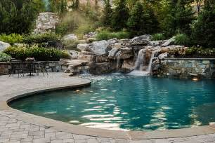 Pictures Of Sloped Backyard Landscaping Ideas Photo Gallery Of Swimming Pools Ponds Fountains