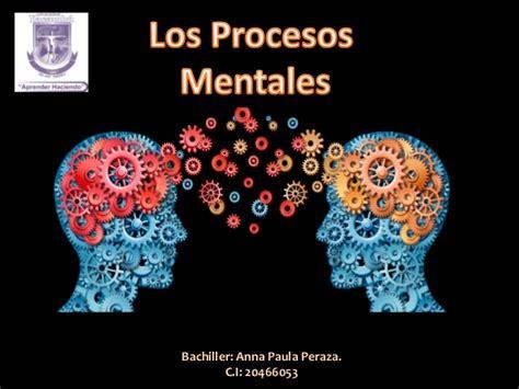 imagenes mentales en psicologia los procesos mentales