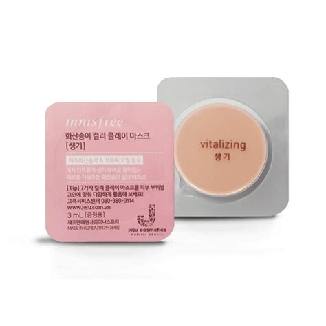 Innisfree Color Clay Mask 1 mẫu thử mặt nạ innisfree jeju volcanic color clay mask