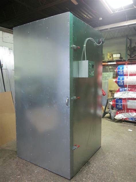 powder coat oven fan 4 x 4 x 8 economy electric powder coat oven