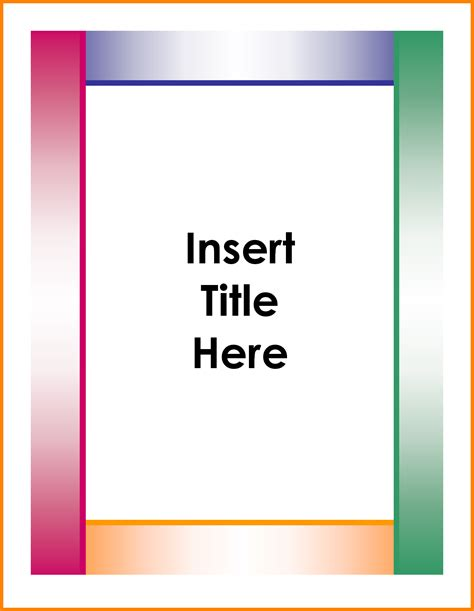 free page template 8 professional binder cover templates land scaping flyers