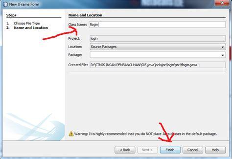 membuat form login sederhana dengan netbeans cara membuat form login di netbeans menggunakan database