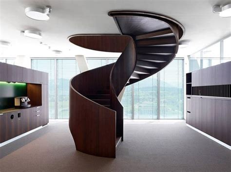 Circular Stairs Design 20 Unforgettable Modern Spiral Staircase Designs