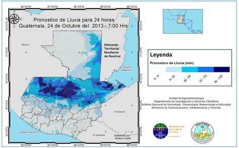 estado actual de la franja transversal del norte santa guatemala con fuertes lluvias para la franja transversal