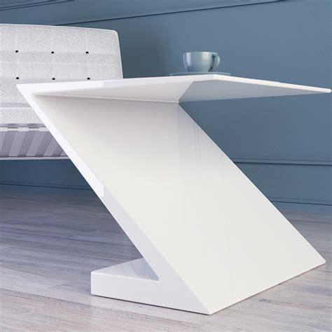 tavolo bianco design tavolino da salotto bianco design moderno zeta made in italy