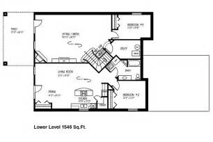 small house floor plans with basement walk out basement plans so replica houses