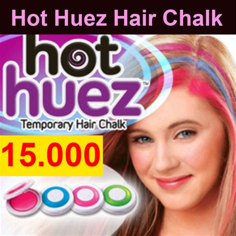jual huez hair chalk powder kapur bubuk pewarna