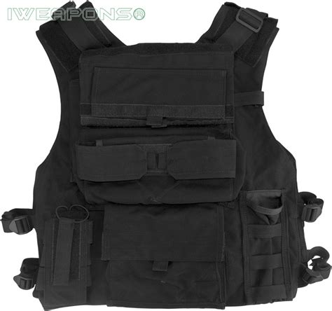 tactical vest backpack iweapons 174 tactical swat assault vest with holster and