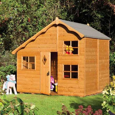 garden cottage playhouse great value sheds summerhouses log cabins playhouses