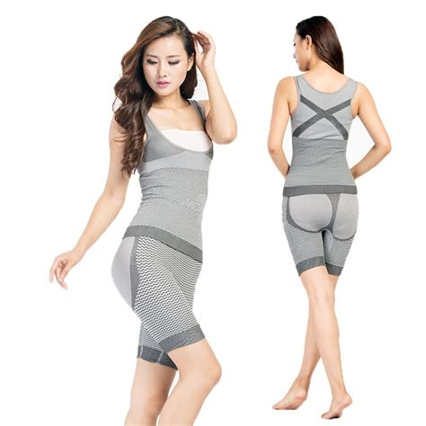 Bamboo Slimming Suit Malaysia bamboo 2in1 slimming suit body corset