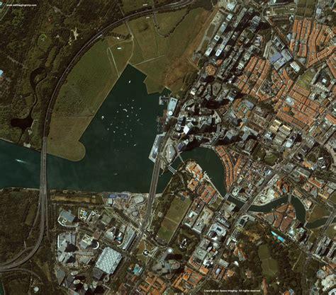 satellite map of singapore ikonos satellite image of singapore satellite imaging corp