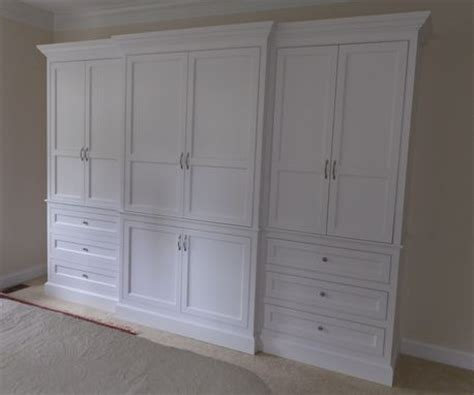 Built In Armoire by Custom Made Built In Wardrobe Armoire By J S Woodworking