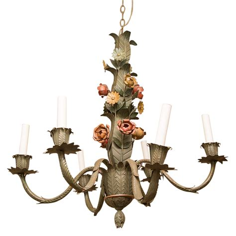antique tole chandelier antique tole chandelier vintage tole 6 arm chandelier on