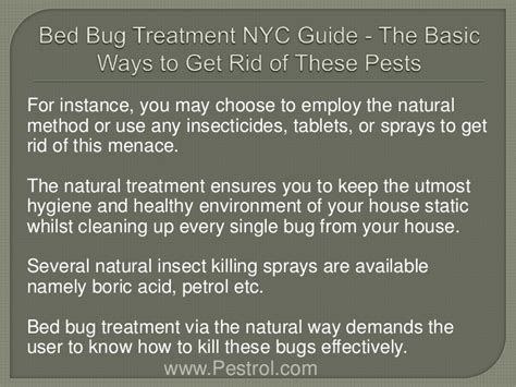 bed bug treatment nyc bed bug treatment nyc guide the basic ways to get rid of