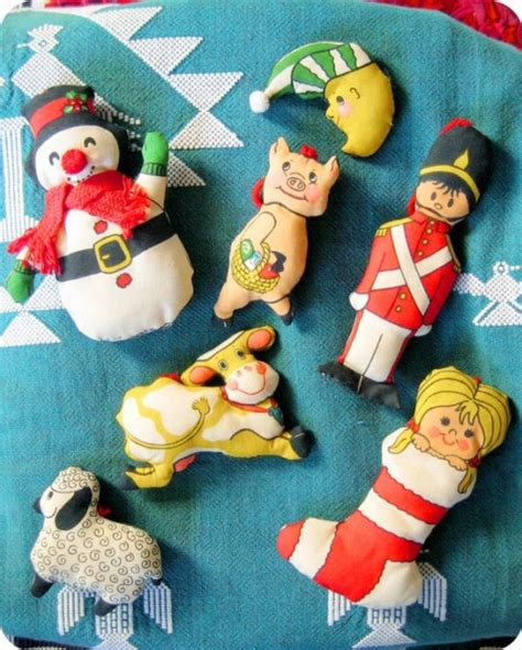 brims 1960s snowman angel vintage ornaments for a retro inspired tree