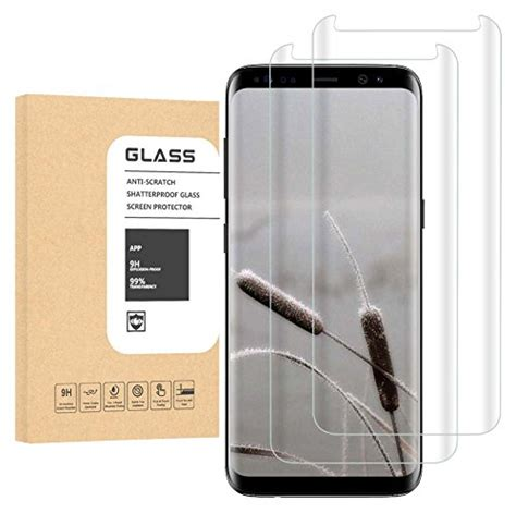Samsung A320 Tempered Glass Thebest Original luji 2pack samsung galaxy s8 clear screen protector friendly anti fingerprint tempered