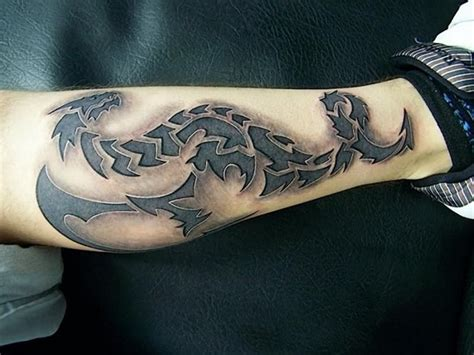 tattoo 3d tribal 25 3d tattoos