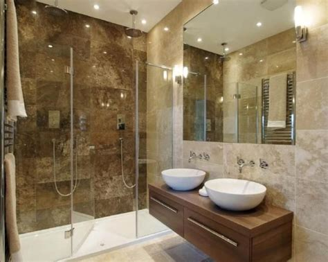 Modern Bathroom Brown Tiles Best 25 Ensuite Bathrooms Ideas On Grey
