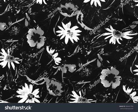 batik design black and white beautiful art fabric batik pattern black stock photo