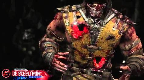 d vorah figure mortal kombat x e3 demo gameplay quot scorpion vs d vorah