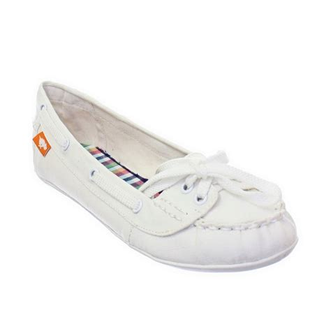boat shoes for dogs womens rocket dog docked white boat deck shoes loafers