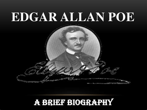 edgar allan poe biography slideshare a tell tale heart