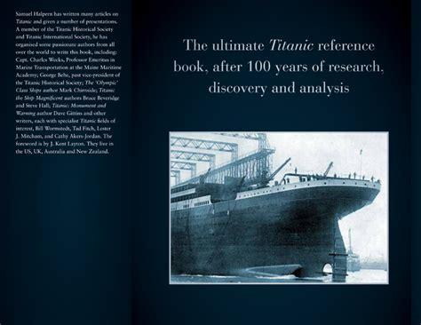 titanic book report book report on the titanic