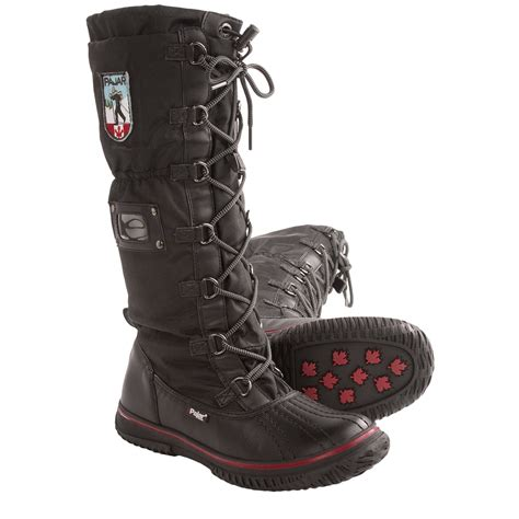 snow boots pajar grip high winter snow boots for 7631c save 44