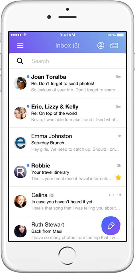 Iphone Search Email Yahoo Mail Keeps You Organized