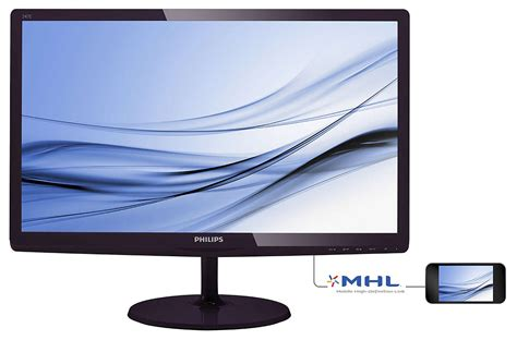 Monitor Philips lcd monitor with softblue technology 247e6bdad 27 philips