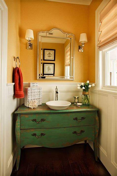 vanity powder room guest bathroom powder room design ideas 20 photos