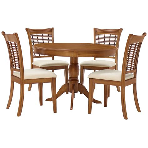 table and 4 chairs bayberry mid tone table 4 chairs