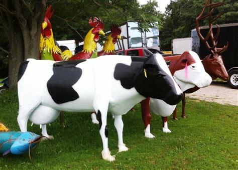 large lawn decorations large metal cows yard decoration