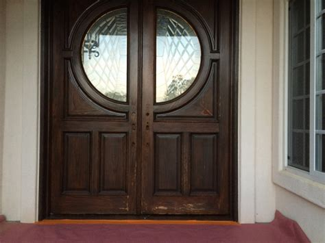Exterior Doors San Diego Front Door Staining And Refinishing In San Diego Chism Brothers Painting