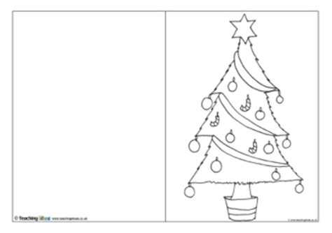 christmas card templates teaching ideas