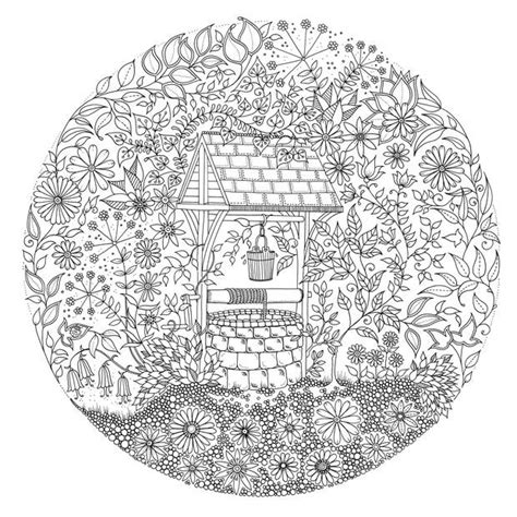 coloring pages of secret garden free coloring pages of johanna basford