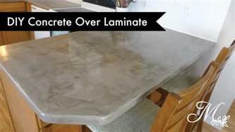 diy concrete laminate countertops using feather