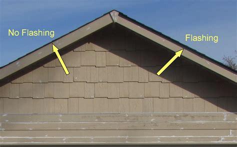 asphalt shingles flashing requirements  edge