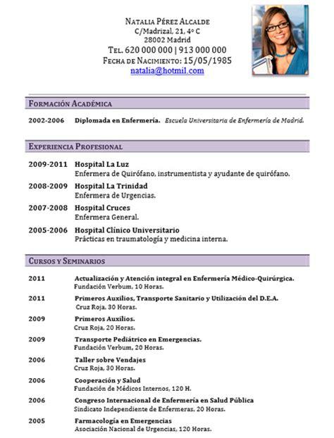 Plantillas De Curriculum Vitae Para Estudiantes Universitarios ejemplo de curriculum vitae de estudiante universitario