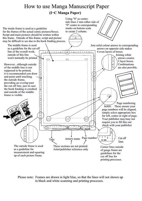 How To Make Manuscript Paper - manuscript paper arts comic gear
