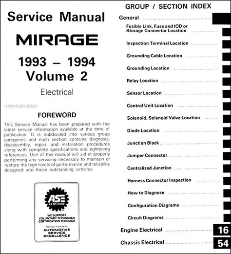 service manual how does cars work 1994 mitsubishi expo instrument cluster service manual how 1993 1994 mitsubishi mirage repair shop manual set original