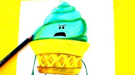 ice cream emoji movie how to draw the ice cream emoji from the emoji movie 2017