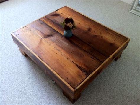 Barn Board Coffee Table Made Oversized Barn Board Coffee Table By Thenewenglandgirl Custommade
