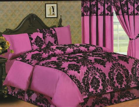 elegance 4pcs complete double bed set duvet cover