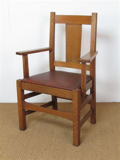 stickley armchair arts crafts armchair by stickley bros 323213