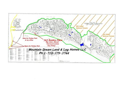 forbes park colorado map forbes park ft garland land for sale mls17 204 ft